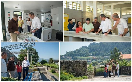 Executivo visitou a União de freguesias de Vila e Roussas e amanhã visita a freguesia de Penso