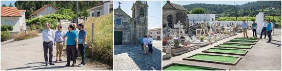 Executivo visitou ontem a freguesia de Alvaredo e hoje visita Cristóval
