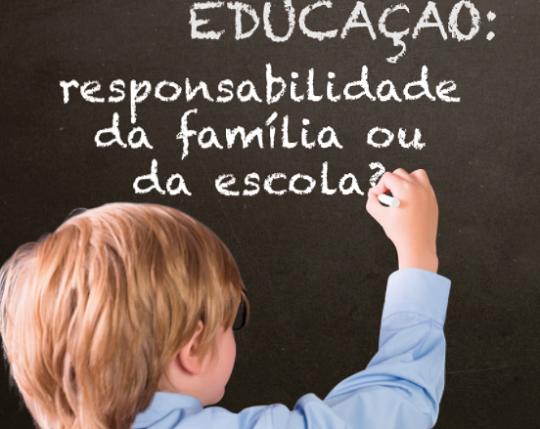 Conferência -Educar- responsabilidade da família ou da escola--
