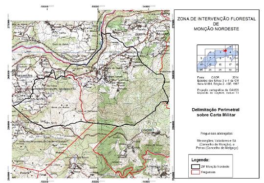 Zona de Intervenção Florestal Monção Nordeste