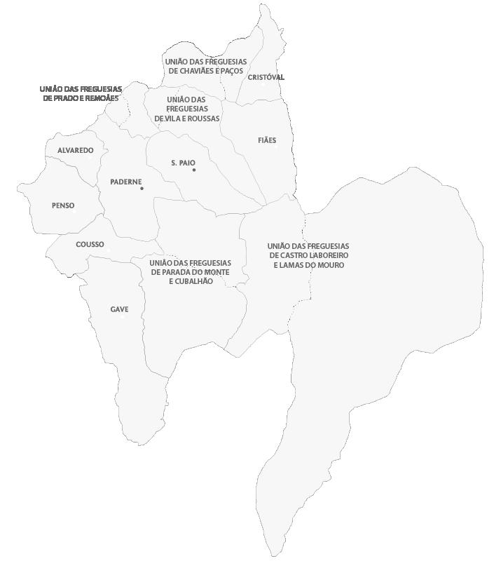melgaço mapa Freguesias – Portal Municipal de Melgaço melgaço mapa